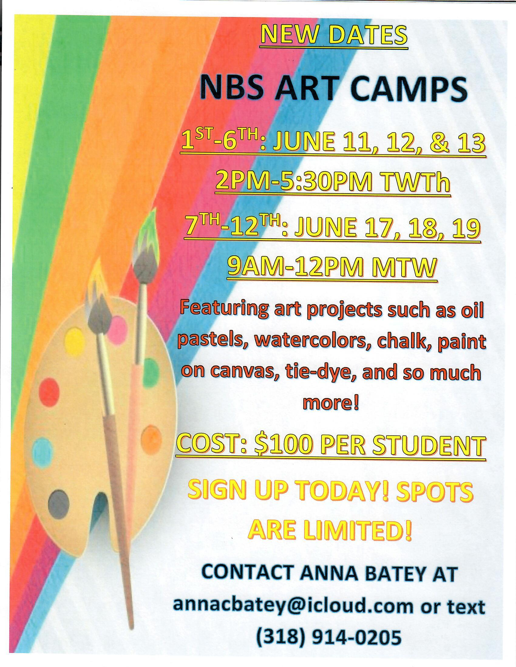 Updated ART Camp