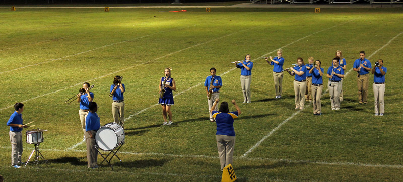 Marching Band - Northeast Baptist School, West Monroe, LA