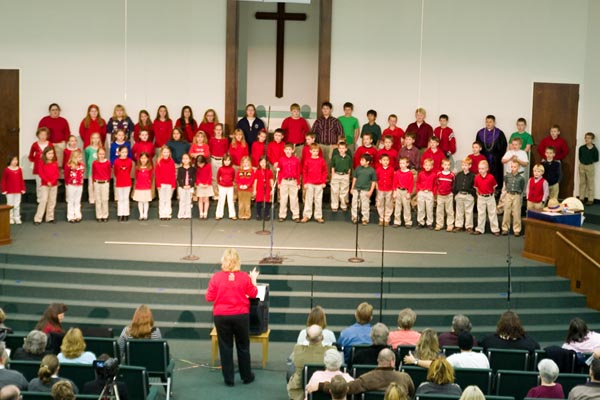 Christmas Concert at Northeast Baptist School, A Christian School in West Monroe, LA